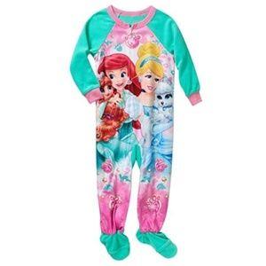 Disney Princesses PALACE PETS Sleeper Pajamas NWT